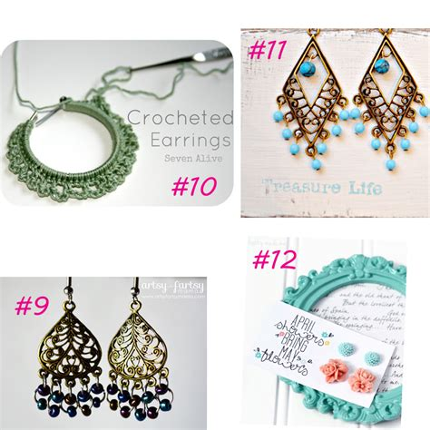 Chandelier Antique 20 Easy Diy Earring Tutorials