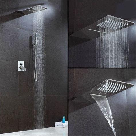 doccia pioggia oltre 25 fantastiche idee su doccia a cascata su
