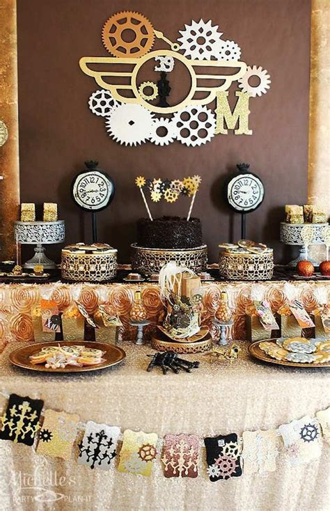 151 best Steampunk Party: Inspiration, Decorations & Food