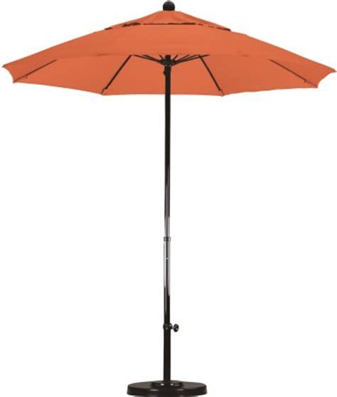 7.5' sunbrella grade aa fiberglass market umbrella