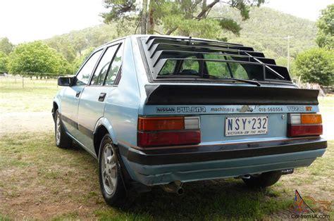 1984 nissan pulsar 1984 nissan pulsar hatchback