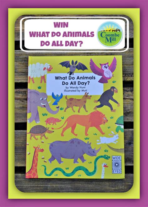 Early Learning Book Animal Dan Animal Planet Pets Activity Book what do animals do all day coombe mill