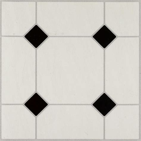 diamond pattern black and white tile floor armstrong diamond jubilee black white 12 in x 12 in