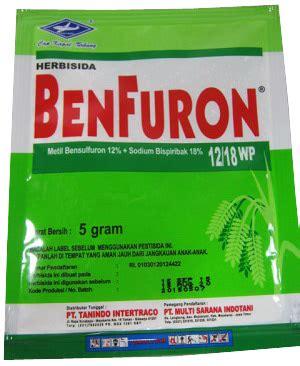 Obat Pengendali Gulma Padi obat pertanian pengendali gulma benfuron 5 gram sumber