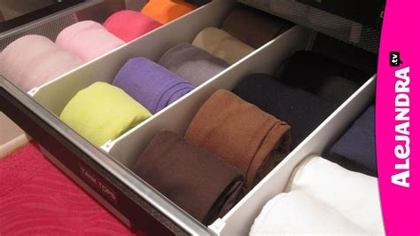 how to organize dresser drawers fold bras