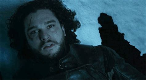 my bloody gif what would it take to actually bring jon snow back from