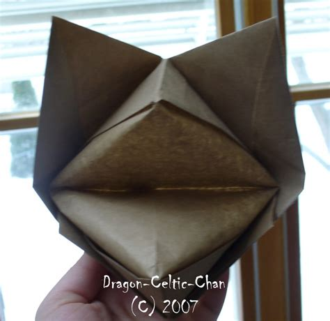 origami fox mask big origami fox mask by celtic chan on deviantart