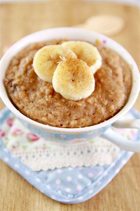 Microwave Peanut Butter & Banana Mug Cake (Microwave Mug Meals)   Gemma?s Bigger Bolder Baking