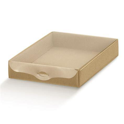 scatole trasparenti per alimenti scatole basse onda avana con coperchio trasparente