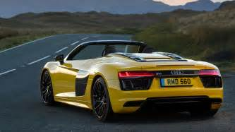 Audi Spyder R8 Audi R8 V10 Spyder 2017 Review By Car Magazine