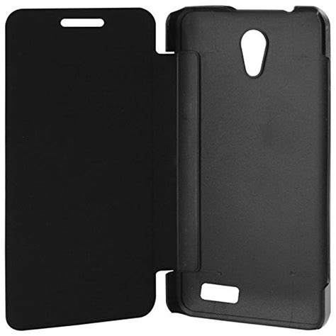 Flip Lenovo A319 flip cover for lenovo a319 black by maxbhi
