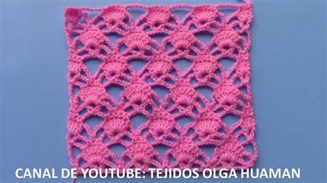 tejidos crochet 2016 youtube tejidos olga huaman puntos tejidos a crochet para polos