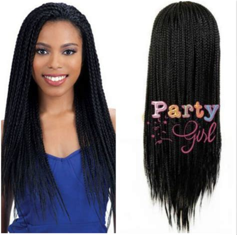 micro braid wig for sale none lace braid wig synthetic micro box braid wigs for
