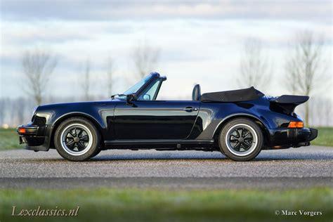 porsche convertible black porsche 930 turbo cabriolet lex classics