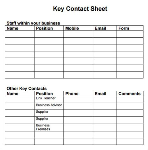 sle business continuity plan template 12 free