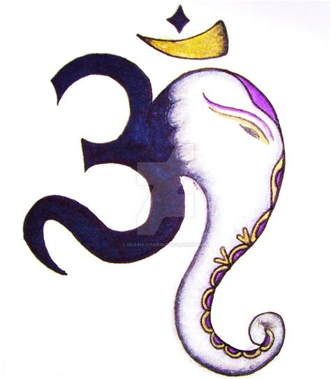 ganesha om by death charm on deviantart