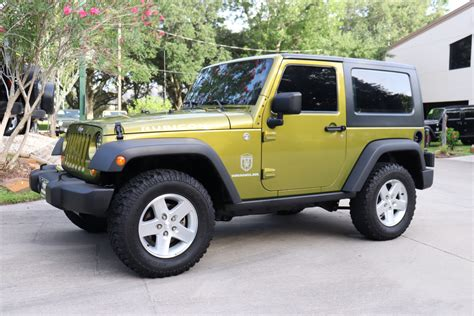 Used Rubicon For Sale by Used 2007 Jeep Wrangler Rubicon 4wd 2dr Rubicon For Sale