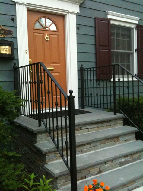 outdoor banisters and railings outdoor aluminum porch railings railing stairs and