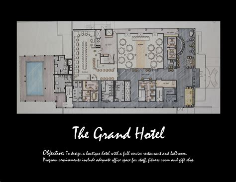 boutique hotel layout plan hospitality design boutique hotel by heather flick at