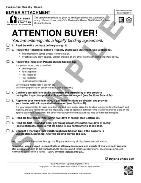 Nj Commitment Letter Blank Arizona Real Estate Purchase Contract Residential Purchase Con