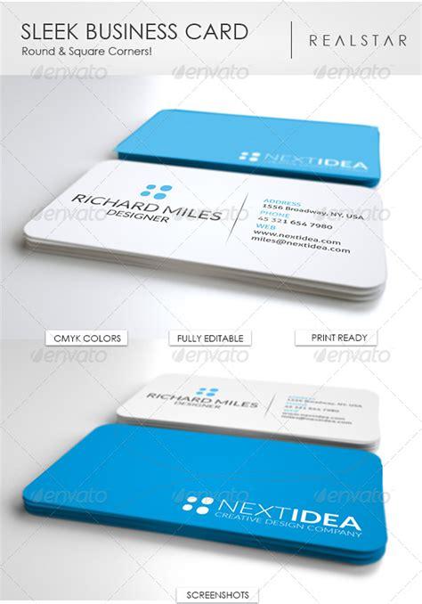 Sleek Business Card Templates by Sleek Business Card Realstar 187 Dondrup