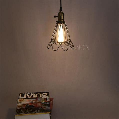industrial cage work light chandelier vintage industrial cage metal chandelier pendant wall