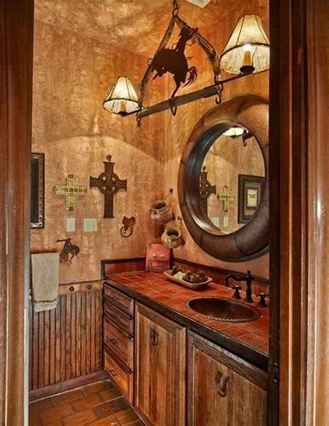 western themed bathroom ideas western decor bathroom unique hardscape design
