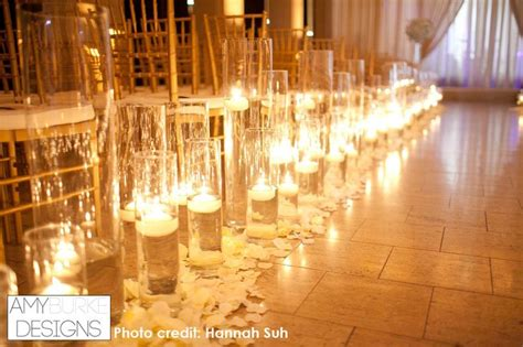 Wedding Aisle Candle Holders by Up Of The Floating Candles The Wedding Aisle