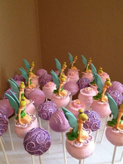tinkerbell pops cakepops   girl birthday decorations fairy birthday fairy birthday party