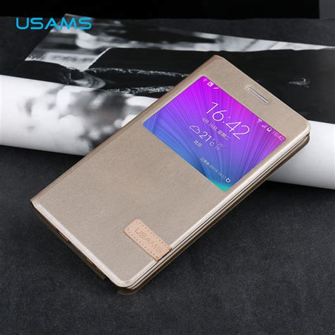 Samsung Galaxy Note Edge N9150 Flip Cover Csp92 usams samsung galaxy note edge n9150 cover muge series flip stand high quality leather