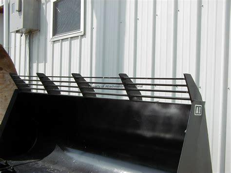 Spill Guard skid steer attachments international