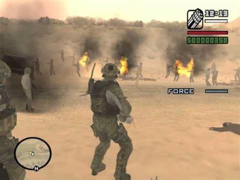gta san andreas army vs zombie alarm mod youtube