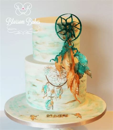 design your dream cake dreamcatcher cake by blossombakes cakesdecor