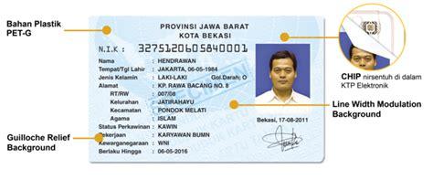 Ciri Ciri Jw Asli Dan Palsu sejarah ktp di indonesia villa gading harapan rt 002 rw 025