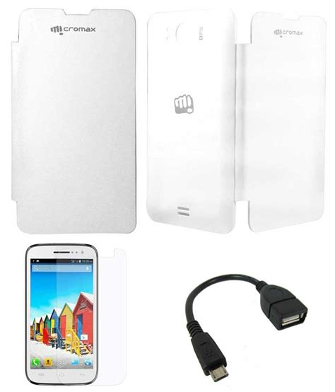 how to use otg in micromax doodle 3 tbz white flip covers for micromax canvas doodle a111 with
