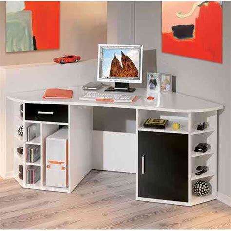 White Wood Computer Desk White Wood Corner Desk Decor Ideasdecor Ideas