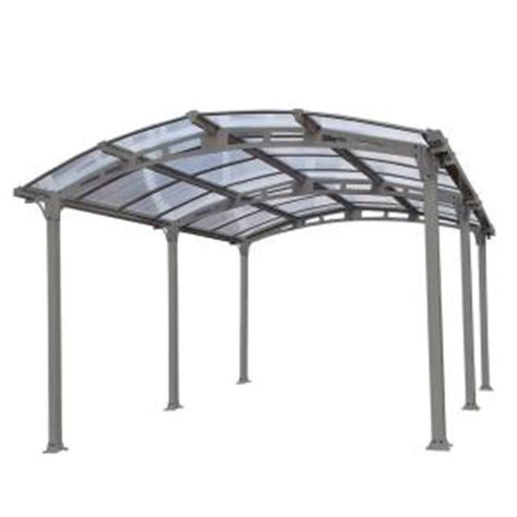 palram arcadia 5 000 12 ft x 16 ft carport with