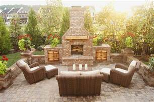 Outdoor Brick Fireplace Outdoor Brick Pizza Oven And Fireplaces 2017 2018 Best