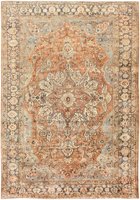 antique rugs vintage bakhtiari rug 46836 by nazmiyal
