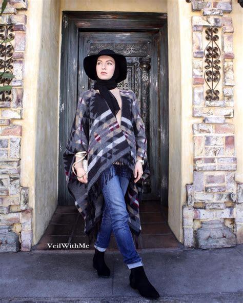 Annisa Outer Wanita Sakha Abu Abu hotd gaya koboi fashionable dari alasmar