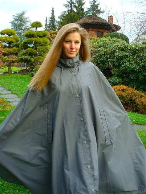 Jo In Raincoat S Intl im cape ist es am sch 246 nsten regencape