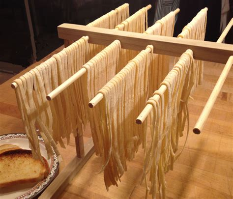 Pasta Dryer Rack by Hardwood Pasta Drying Rack Designed To Work With Kitchenaid