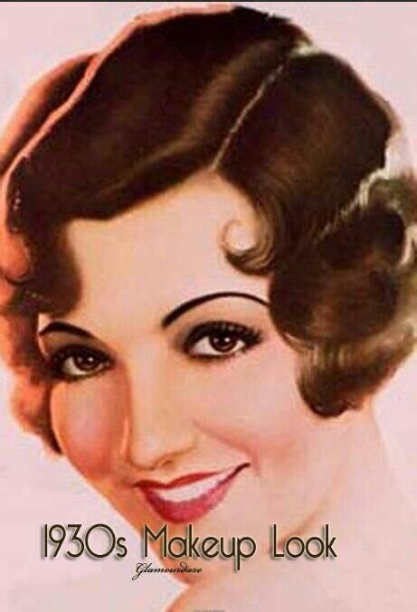 1930s hairstyles history 35 best history 1930 s images on pinterest 1930s makeup