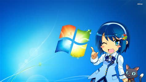 themes for windows 7 japan madobe nanami windows 7 japanese mascot wallpaper