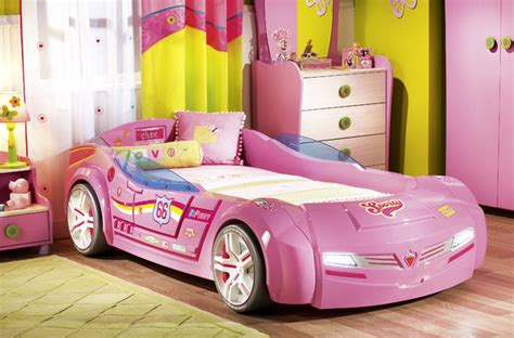 car beds for girls kids car bedroom for girls pretty in pink modern