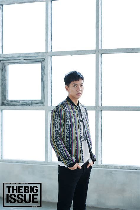 lee seung gi interview 2018 lee seung gi 2018 big issue interview hq press photos