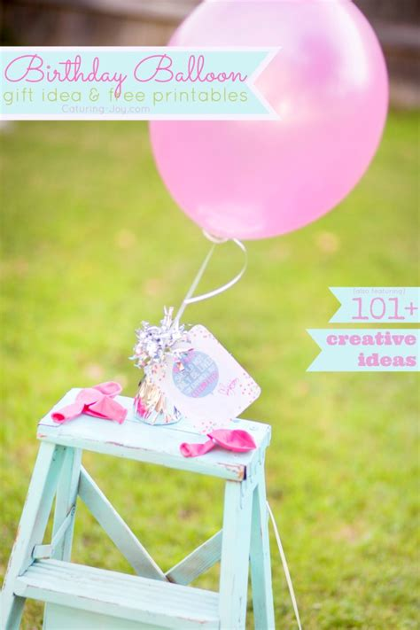 101 birthday gift ideas for your friends birthday balloon