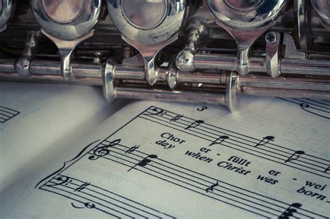 imagenes hd instrumentos musicales fondo de pantalla de flauta partitura instrumento