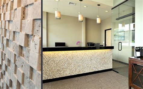 Tiled Reception Desk Cooper Mountain Dental Reception Desk Tile Dental Office In Beaverton Or Design By Emmett