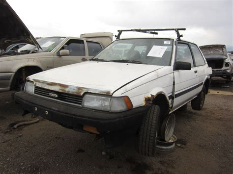 buy toyota car junkyard find 1988 toyota corolla the truth about cars
